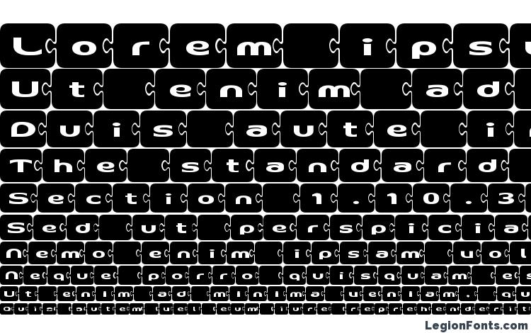 specimens D3 PazzlismA font, sample D3 PazzlismA font, an example of writing D3 PazzlismA font, review D3 PazzlismA font, preview D3 PazzlismA font, D3 PazzlismA font