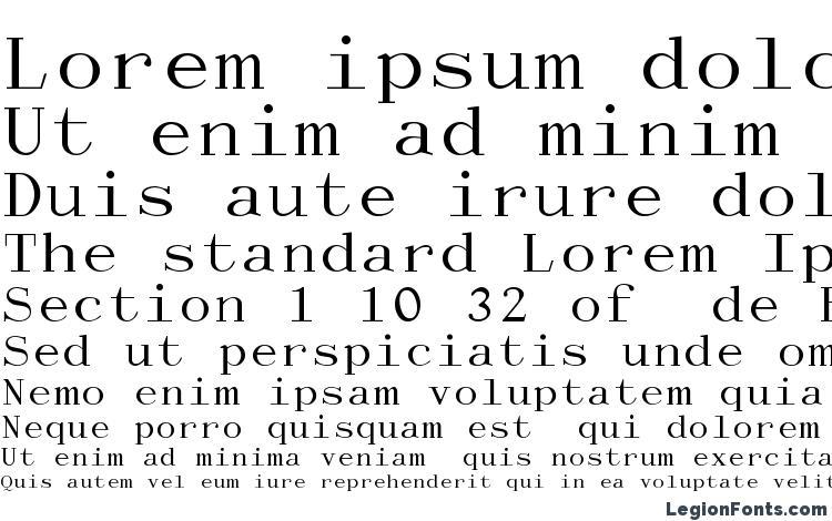 specimens Dactylographe (Unregistered) font, sample Dactylographe (Unregistered) font, an example of writing Dactylographe (Unregistered) font, review Dactylographe (Unregistered) font, preview Dactylographe (Unregistered) font, Dactylographe (Unregistered) font