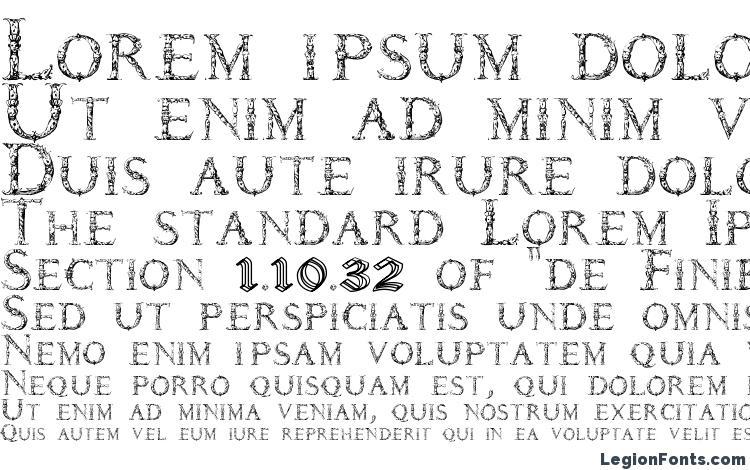 specimens Daemones font, sample Daemones font, an example of writing Daemones font, review Daemones font, preview Daemones font, Daemones font