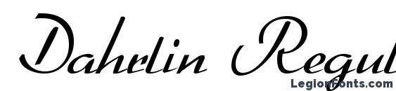 Dahrlin Regular Font, Medieval Fonts