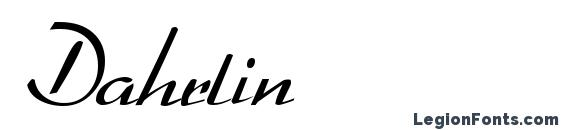 Dahrlin Font, Tattoo Fonts