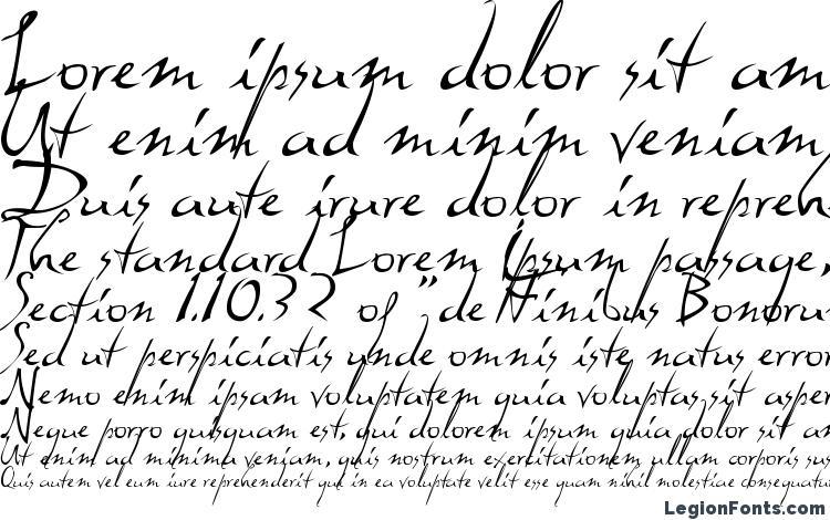 specimens Dali font, sample Dali font, an example of writing Dali font, review Dali font, preview Dali font, Dali font
