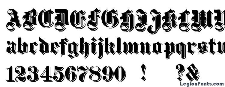 глифы шрифта Dampfplatz Shadow Black, символы шрифта Dampfplatz Shadow Black, символьная карта шрифта Dampfplatz Shadow Black, предварительный просмотр шрифта Dampfplatz Shadow Black, алфавит шрифта Dampfplatz Shadow Black, шрифт Dampfplatz Shadow Black