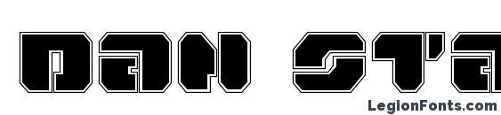 Dan Stargate Pro Font