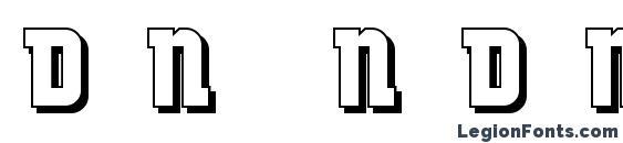 DancingDonuts Font