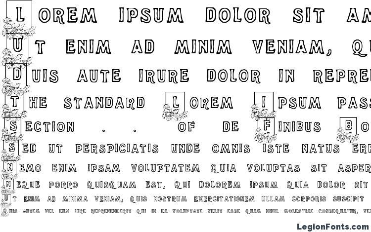 образцы шрифта Dandelion, образец шрифта Dandelion, пример написания шрифта Dandelion, просмотр шрифта Dandelion, предосмотр шрифта Dandelion, шрифт Dandelion