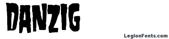 Шрифт Danzig