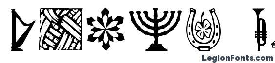 Daoth regular Font, Icons Fonts