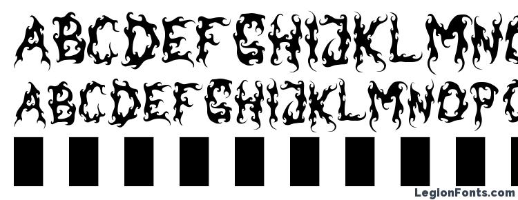 glyphs Dark garden font, сharacters Dark garden font, symbols Dark garden font, character map Dark garden font, preview Dark garden font, abc Dark garden font, Dark garden font