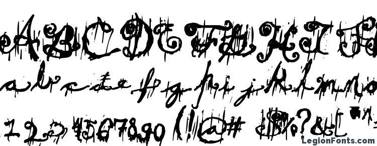 glyphs Dark theater font, сharacters Dark theater font, symbols Dark theater font, character map Dark theater font, preview Dark theater font, abc Dark theater font, Dark theater font