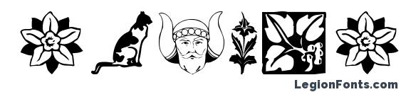 DavysDingbats2 Font, Icons Fonts