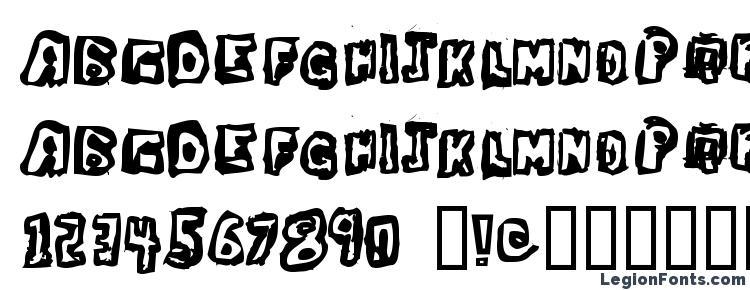 глифы шрифта Dawg Box, символы шрифта Dawg Box, символьная карта шрифта Dawg Box, предварительный просмотр шрифта Dawg Box, алфавит шрифта Dawg Box, шрифт Dawg Box
