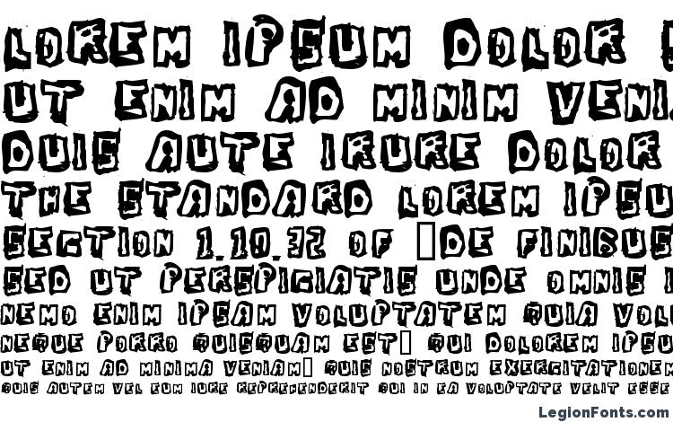specimens Dawg Box font, sample Dawg Box font, an example of writing Dawg Box font, review Dawg Box font, preview Dawg Box font, Dawg Box font