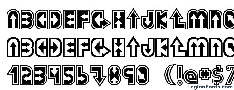 глифы шрифта Dazey, символы шрифта Dazey, символьная карта шрифта Dazey, предварительный просмотр шрифта Dazey, алфавит шрифта Dazey, шрифт Dazey