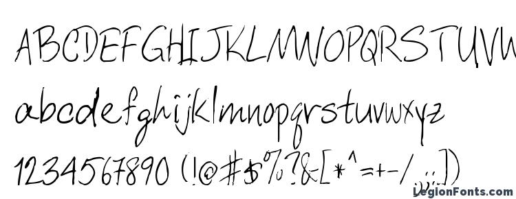 glyphs DCWri Regular font, сharacters DCWri Regular font, symbols DCWri Regular font, character map DCWri Regular font, preview DCWri Regular font, abc DCWri Regular font, DCWri Regular font