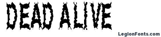 Dead Alive Font, Halloween Fonts