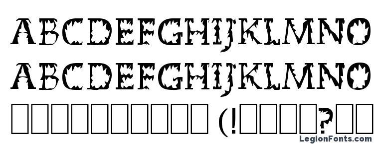 glyphs Dead World font, сharacters Dead World font, symbols Dead World font, character map Dead World font, preview Dead World font, abc Dead World font, Dead World font