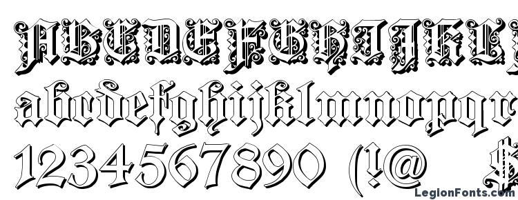glyphs Dearest Outline font, сharacters Dearest Outline font, symbols Dearest Outline font, character map Dearest Outline font, preview Dearest Outline font, abc Dearest Outline font, Dearest Outline font