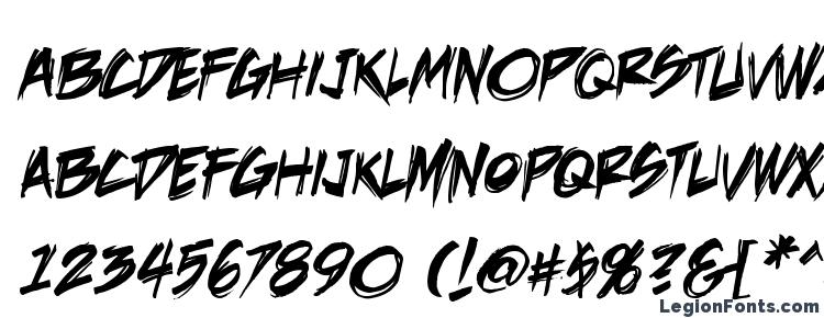 glyphs DeathRattle BB font, сharacters DeathRattle BB font, symbols DeathRattle BB font, character map DeathRattle BB font, preview DeathRattle BB font, abc DeathRattle BB font, DeathRattle BB font