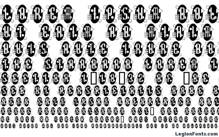 specimens Decorette font, sample Decorette font, an example of writing Decorette font, review Decorette font, preview Decorette font, Decorette font