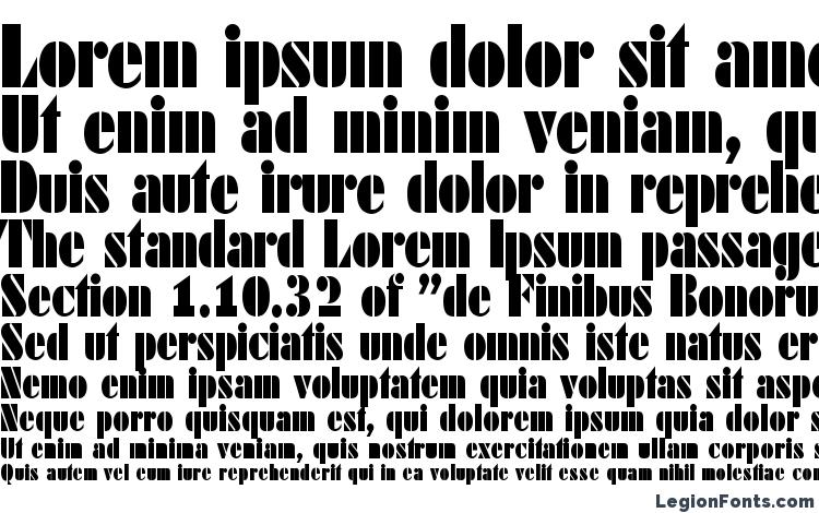 specimens DekoBlackCondSerial Regular font, sample DekoBlackCondSerial Regular font, an example of writing DekoBlackCondSerial Regular font, review DekoBlackCondSerial Regular font, preview DekoBlackCondSerial Regular font, DekoBlackCondSerial Regular font