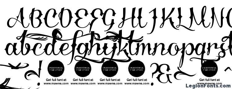 glyphs Delinquente Demo font, сharacters Delinquente Demo font, symbols Delinquente Demo font, character map Delinquente Demo font, preview Delinquente Demo font, abc Delinquente Demo font, Delinquente Demo font