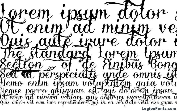 specimens Delinquente Demo font, sample Delinquente Demo font, an example of writing Delinquente Demo font, review Delinquente Demo font, preview Delinquente Demo font, Delinquente Demo font