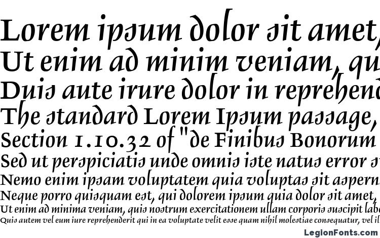 specimens Delphin LT II font, sample Delphin LT II font, an example of writing Delphin LT II font, review Delphin LT II font, preview Delphin LT II font, Delphin LT II font