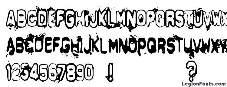 глифы шрифта Delta Echo, символы шрифта Delta Echo, символьная карта шрифта Delta Echo, предварительный просмотр шрифта Delta Echo, алфавит шрифта Delta Echo, шрифт Delta Echo