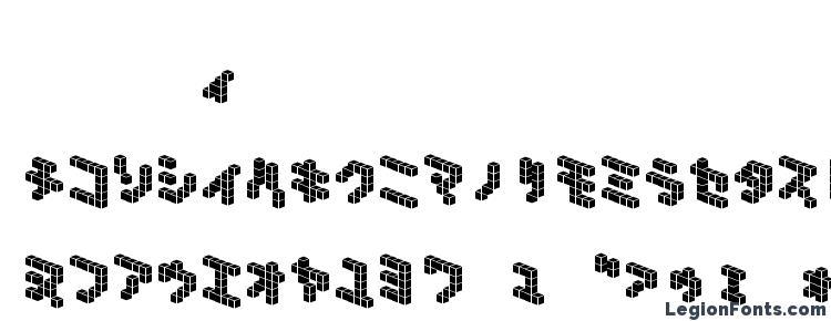 глифы шрифта Demoncubicblock nkp tile, символы шрифта Demoncubicblock nkp tile, символьная карта шрифта Demoncubicblock nkp tile, предварительный просмотр шрифта Demoncubicblock nkp tile, алфавит шрифта Demoncubicblock nkp tile, шрифт Demoncubicblock nkp tile