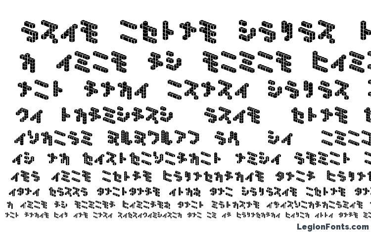 specimens Demoncubicblock nkp tile font, sample Demoncubicblock nkp tile font, an example of writing Demoncubicblock nkp tile font, review Demoncubicblock nkp tile font, preview Demoncubicblock nkp tile font, Demoncubicblock nkp tile font