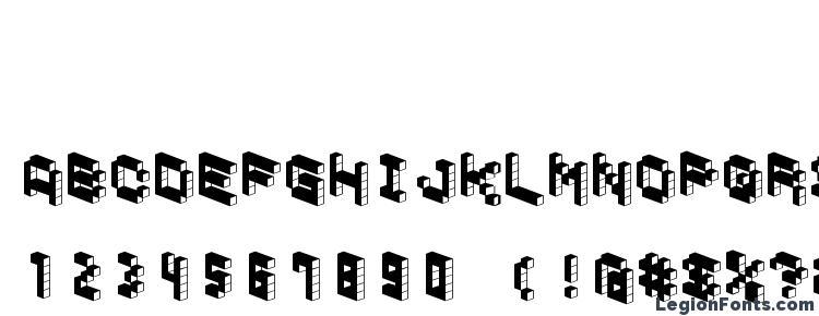 глифы шрифта Demoncubicblockfont dark, символы шрифта Demoncubicblockfont dark, символьная карта шрифта Demoncubicblockfont dark, предварительный просмотр шрифта Demoncubicblockfont dark, алфавит шрифта Demoncubicblockfont dark, шрифт Demoncubicblockfont dark