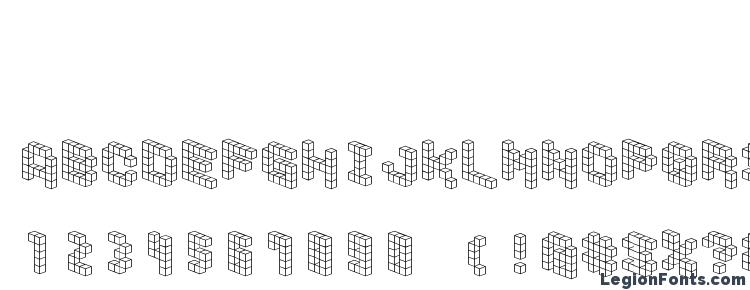 glyphs Demoncubicblockfont font, сharacters Demoncubicblockfont font, symbols Demoncubicblockfont font, character map Demoncubicblockfont font, preview Demoncubicblockfont font, abc Demoncubicblockfont font, Demoncubicblockfont font