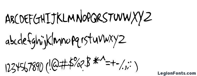 glyphs Denrito font, сharacters Denrito font, symbols Denrito font, character map Denrito font, preview Denrito font, abc Denrito font, Denrito font
