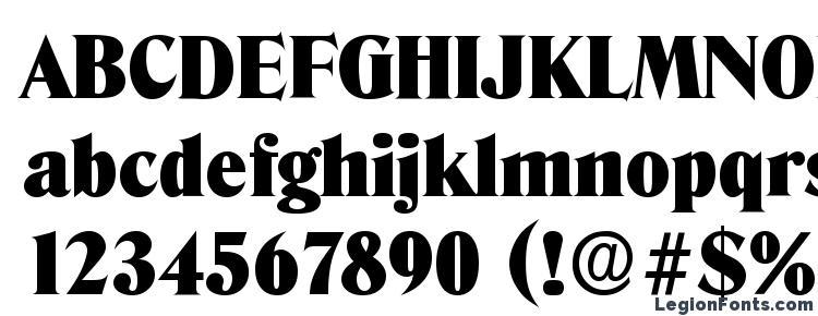 глифы шрифта DenverSerial Black Regular, символы шрифта DenverSerial Black Regular, символьная карта шрифта DenverSerial Black Regular, предварительный просмотр шрифта DenverSerial Black Regular, алфавит шрифта DenverSerial Black Regular, шрифт DenverSerial Black Regular