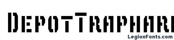 Шрифт DepotTrapharet2D