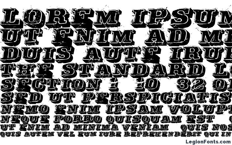 specimens Depraved font, sample Depraved font, an example of writing Depraved font, review Depraved font, preview Depraved font, Depraved font