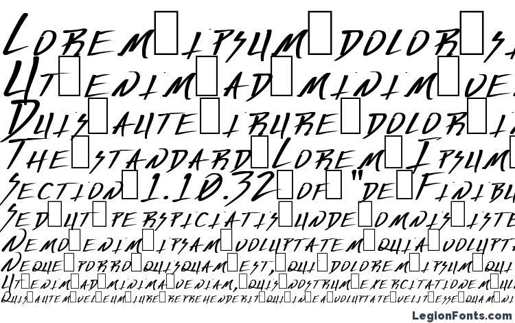 образцы шрифта Deranged 1, образец шрифта Deranged 1, пример написания шрифта Deranged 1, просмотр шрифта Deranged 1, предосмотр шрифта Deranged 1, шрифт Deranged 1