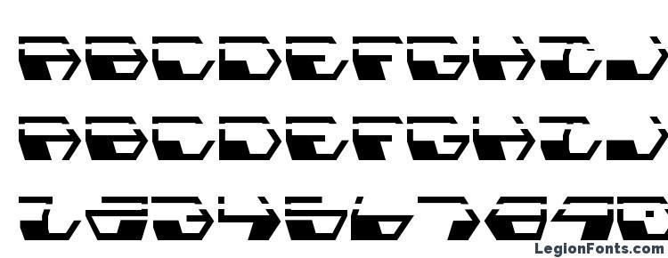 глифы шрифта Deranian Laser, символы шрифта Deranian Laser, символьная карта шрифта Deranian Laser, предварительный просмотр шрифта Deranian Laser, алфавит шрифта Deranian Laser, шрифт Deranian Laser