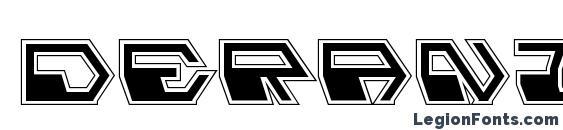 Deranian Pro Font, Modern Fonts