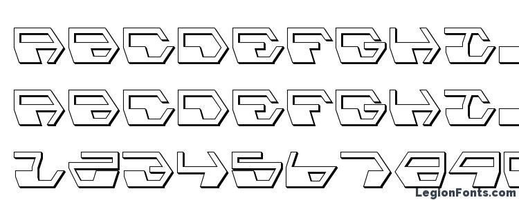 глифы шрифта Deranian Shadow, символы шрифта Deranian Shadow, символьная карта шрифта Deranian Shadow, предварительный просмотр шрифта Deranian Shadow, алфавит шрифта Deranian Shadow, шрифт Deranian Shadow