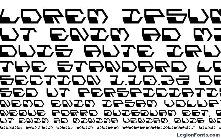 specimens Deranian font, sample Deranian font, an example of writing Deranian font, review Deranian font, preview Deranian font, Deranian font