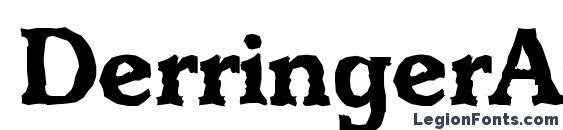 шрифт DerringerAntique Bold, бесплатный шрифт DerringerAntique Bold, предварительный просмотр шрифта DerringerAntique Bold
