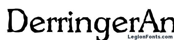 Шрифт DerringerAntique Regular