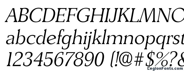 glyphs DerringerLH Italic font, сharacters DerringerLH Italic font, symbols DerringerLH Italic font, character map DerringerLH Italic font, preview DerringerLH Italic font, abc DerringerLH Italic font, DerringerLH Italic font