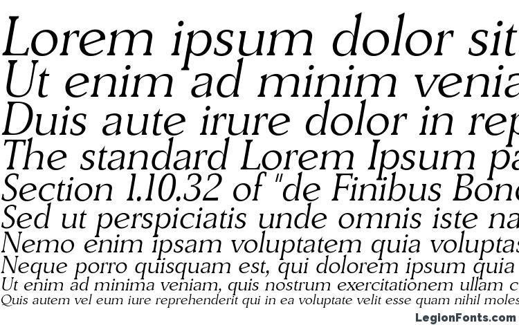 specimens DerringerLH Italic font, sample DerringerLH Italic font, an example of writing DerringerLH Italic font, review DerringerLH Italic font, preview DerringerLH Italic font, DerringerLH Italic font