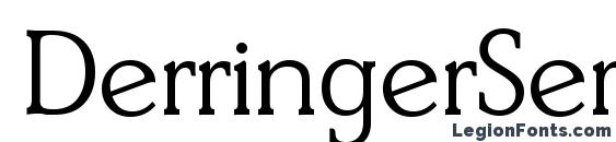 DerringerSerial Light Regular Font