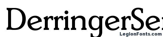 DerringerSerial Regular Font