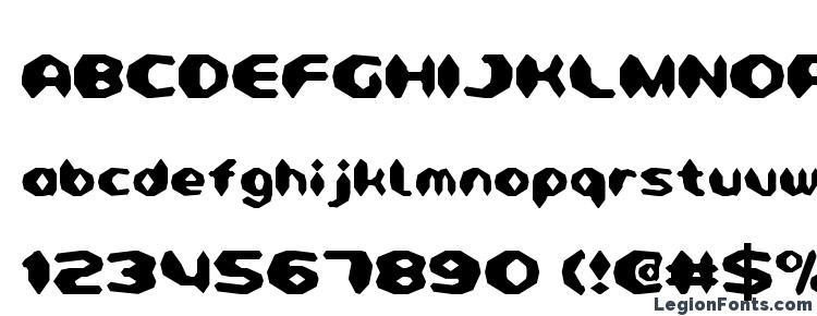 глифы шрифта Detonator Condensed, символы шрифта Detonator Condensed, символьная карта шрифта Detonator Condensed, предварительный просмотр шрифта Detonator Condensed, алфавит шрифта Detonator Condensed, шрифт Detonator Condensed