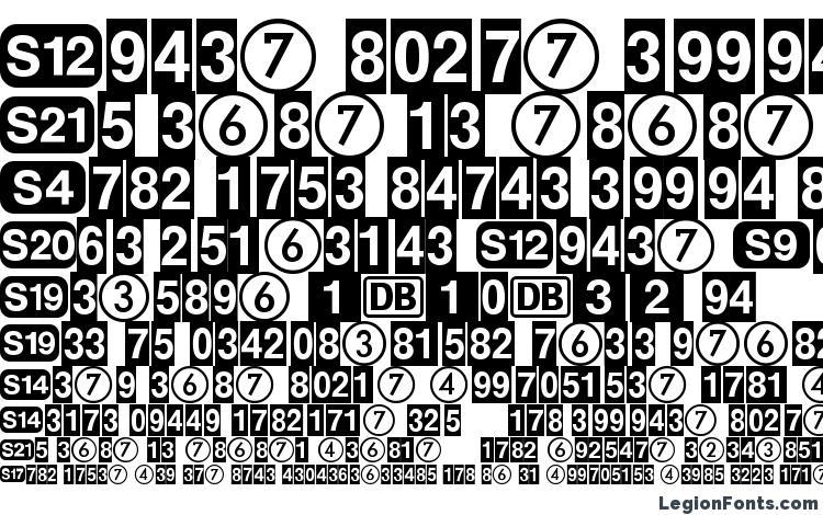образцы шрифта DeutscheBahnAG One, образец шрифта DeutscheBahnAG One, пример написания шрифта DeutscheBahnAG One, просмотр шрифта DeutscheBahnAG One, предосмотр шрифта DeutscheBahnAG One, шрифт DeutscheBahnAG One